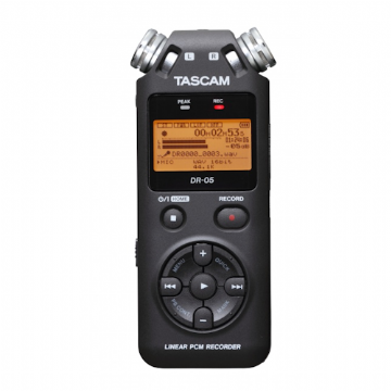 Tascam DR05 v2 Handheld Portable Stereo Audio Recorder
